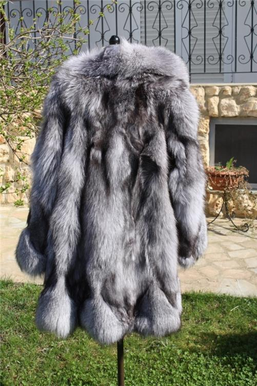 buy silver fox from fur store