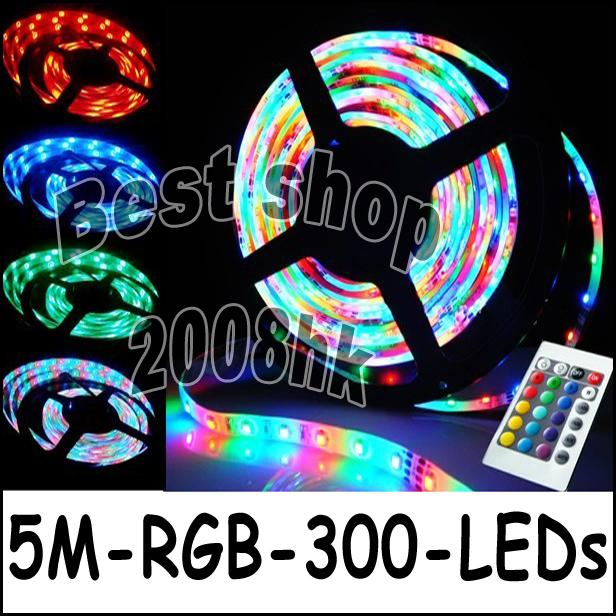 3528 LED strip waterprooof with IR remote