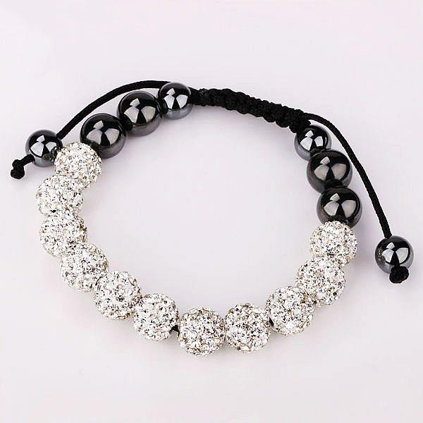 Premium 11*10mm CZ Disco Crystal Ball SHAMBALLA BRACELET Fashion Jewelry Gift