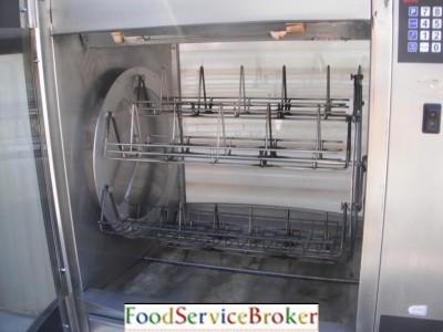 Hobart glass chicken rotisserie oven bbq restaurant hr7 for Kitchen designs hobart