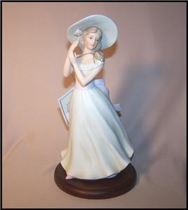 Homco Home Interiors Melanie Masterpiece Porcelain Figurine 1996 Ebay