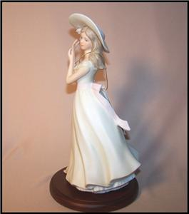 Homco home interiors melanie masterpiece porcelain Eba home interior figurines