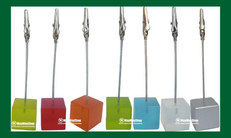 5-pcs-translucent-wire-desk-memo-clip-photo-card-holder-new
