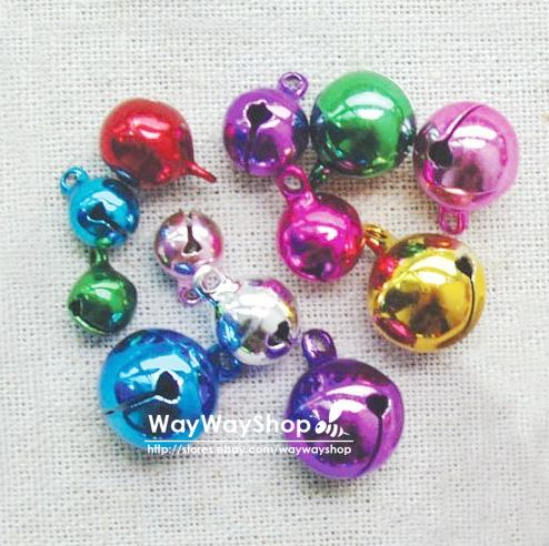5mm-8mm-10mm-20mm-30mm-50mm-Huge-Assorted-Color-Jingle-Bell-Charms-Mixed-Color