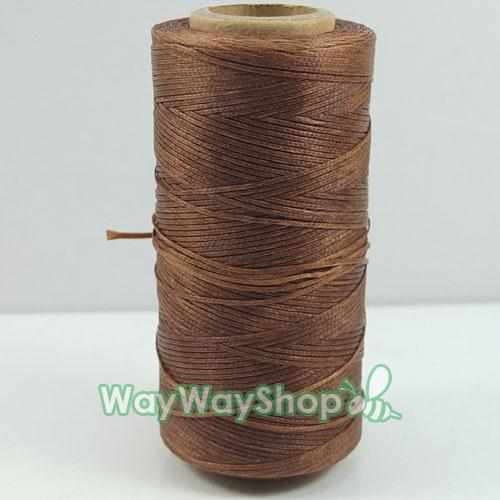 300 yards Leather Sew wax line thread tensile strength For Bag Wallet Pick color