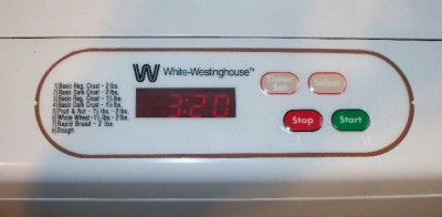 How to Make Bread in a White Westinghouse Bread Machine | eHow.co.uk