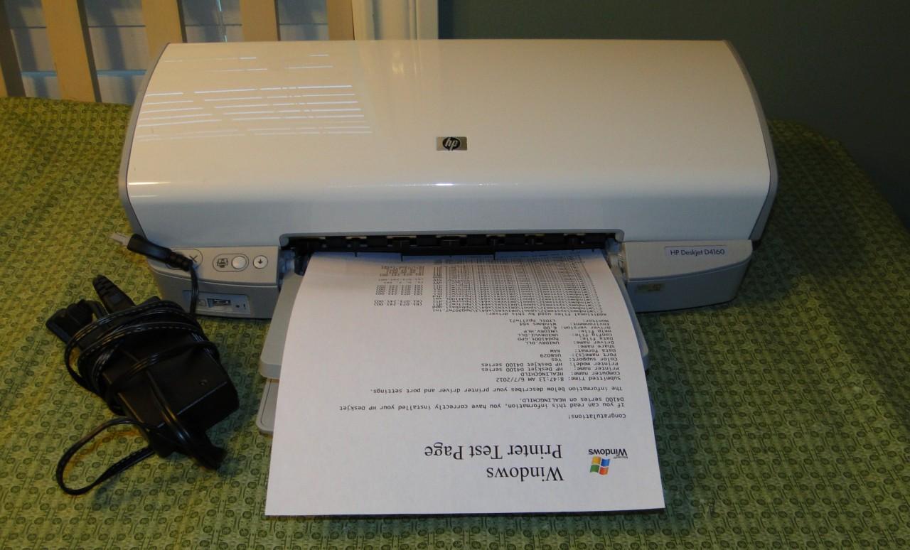 Hp deskjet d4160 printer software free download