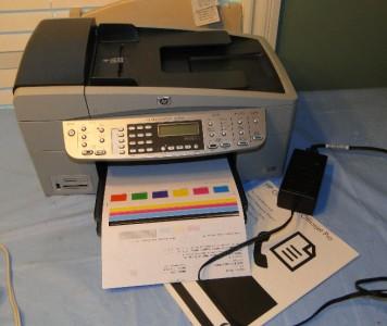 hp officejet 6310 all in one printer good hinges ebay. Black Bedroom Furniture Sets. Home Design Ideas