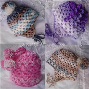 Newborn Chin Strap Helmet Hat - Inner Hooker — Crochet Patterns