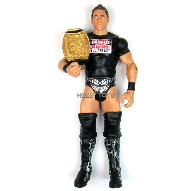 Wwe Toys For Boys : Wwe wrestling the miz painted shirt belt action figure
