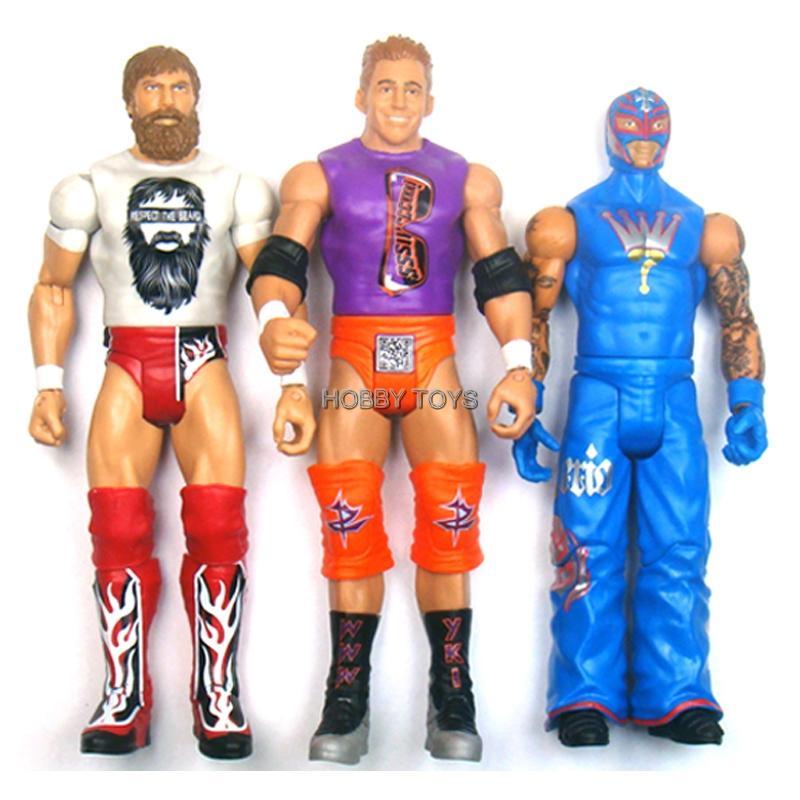 3x Daniel Bryan Zack Ryder Rey Wwe Daniel Bryan Toys Ebay