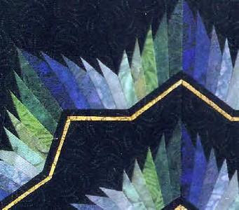 Pieced Star Free Quilt Pattern
