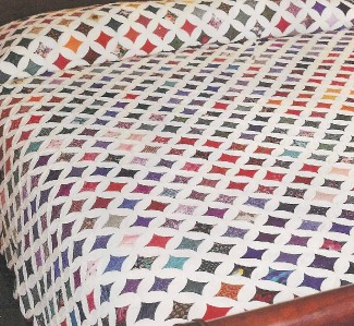 cathedral window quilt - Pictures, Images and Photos