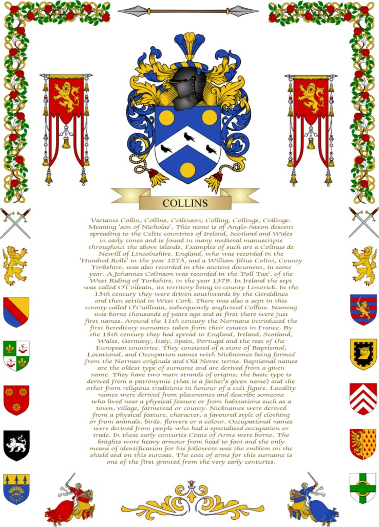 sexton family crest. Coat of arms family crest with