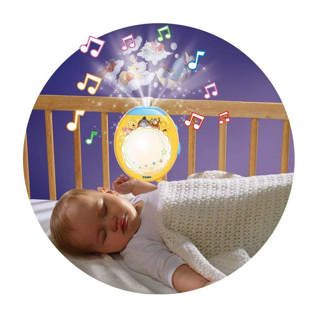 Winnie The Pooh Tomy Lullaby Dreams Lightshow Baby Mobile