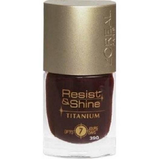 How To Clean A Titanium Nail: ** L'OREAL RESIST & SHINE TITANIUM NAIL POLISH VARIOUS