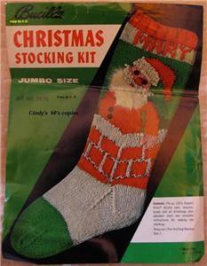 Old Fashioned Christmas Stocking Knitting Patterns