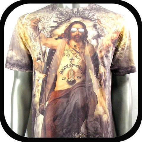 Minute-Mirth-T-Shirt-Tattoo-Rock-Vtg-Graffiti-N2-Sz-M-L-Streetwear-Funky-Indie
