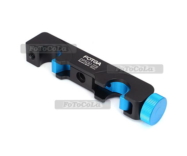 Fotga quick release slide slot lock block clamp f follow