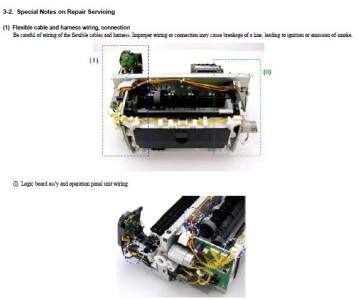 Canon iPF8000 Series Service & Repair Manual + Parts Catalog
