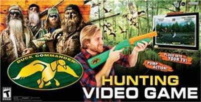 AND PLAY DUCK COMMANDER HUNTING VIDEO GAME DUCK DYNASTY GAME SHOOTING