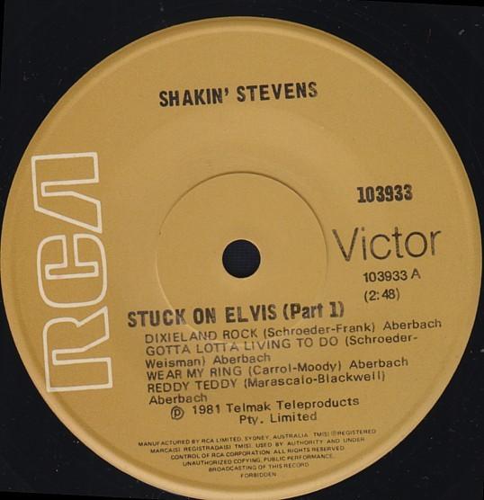 ROCKABILLY-RARE-1981-RCA-45-VINYL-RECORD-ELVIS-PRESLEY-PT-1-2