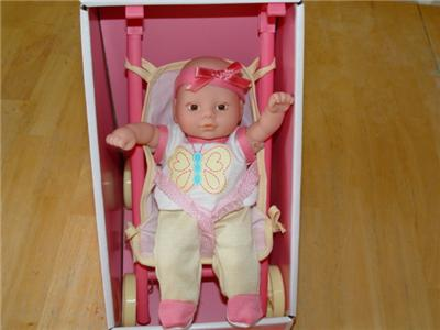 Circo New Baby Doll Mini Gift Set Stroller Amp Toy Cradle