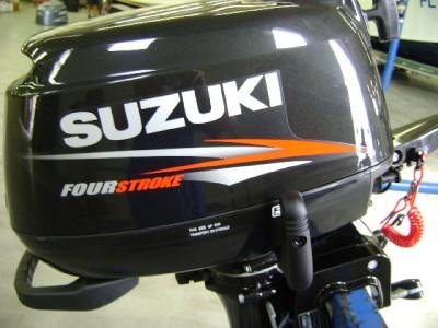Suzuki outboard df6s df 6 hp 15 inch shaft four stroke for Suzuki outboard motor repair shops