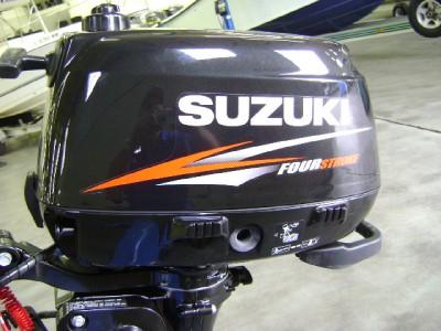 Suzuki outboard motor df4s df 4hp 15 four stroke manual for Suzuki 2 5 hp 4 stroke outboard motor