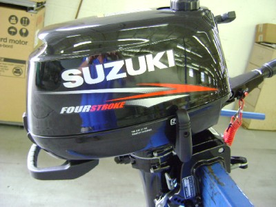 Suzuki Outboard Motor Df4s Df 4hp 15 Four Stroke Manual