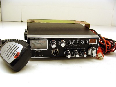 Galaxy DX48T DX 48T Big Rig Series 200 Watt Hi Power CB Radio Mint