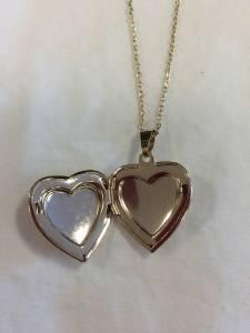 Locket Silver Heart Locket Gold heart Locket Bible Locket   eBay