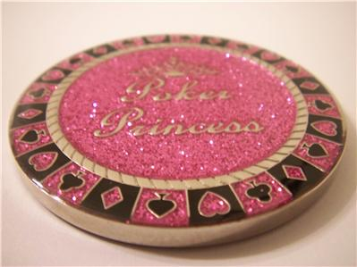 SPARKLE-POKER-PRINCESS-Womens-Poker-Weight-Guard-Card