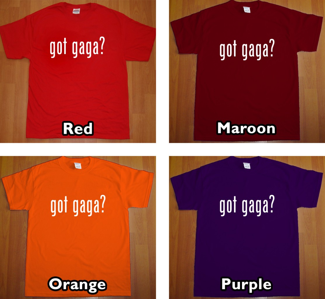 GOT GAGA? new Lady Gaga T Shirt paparazzi pop rock tee