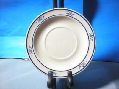 Brick oven scandia stoneware saucer ebay for Brick oven stoneware jardin bleu
