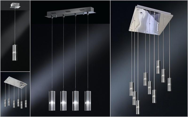 LUXURY 6 LIGHT ART CRYSTAL PENDANT CEILING KITCHEN 1 5m