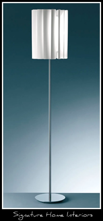 floor lamp light modern lighting fixture shade top leading