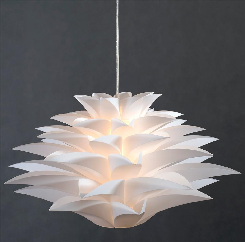 Quality acrylic light pendant modern new ceiling chandelier lighting white lamp ebay - Chandelier ceiling lamp ...