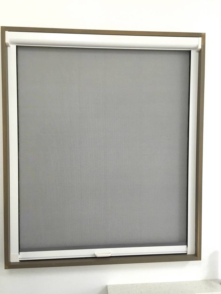 Retractable window flyscreen for serving window 1500mmh for Phantom door screens prices