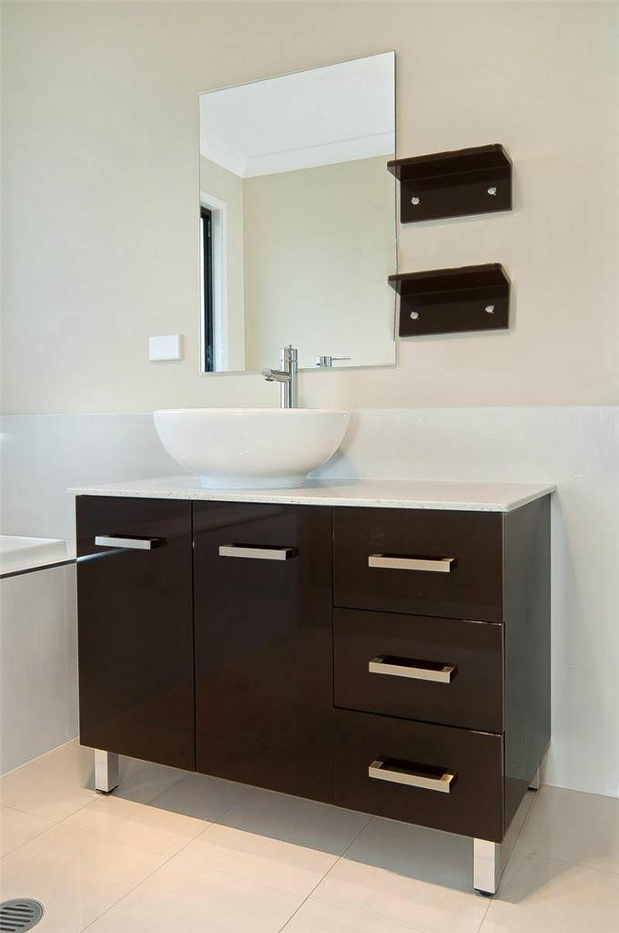 1000mmw bathroom vanity unit stone top new cabinet low for Bathroom cabinets ebay australia