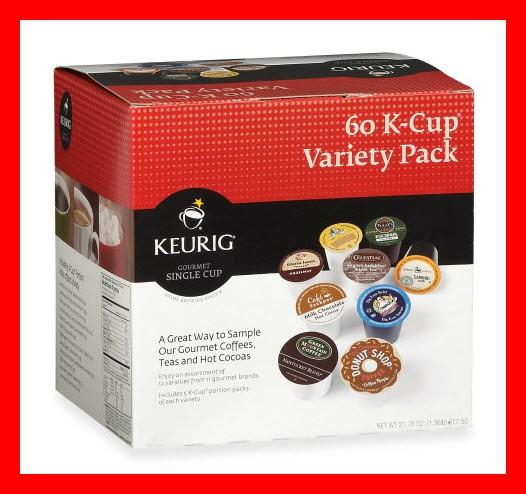 K-cup Coffee Variety Pack 60 K-cups For Keurig