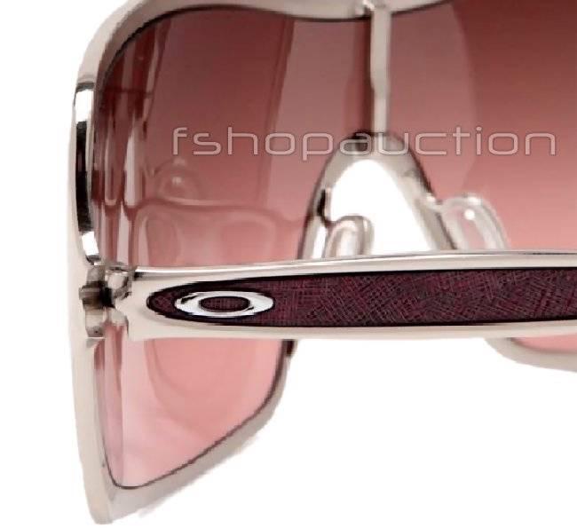 6a250c1d1f Oakley OO 4053-04 REMEDY Polished Chrome G40 Black Gradient Womens  Sunglasses