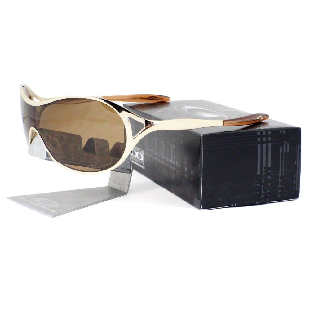 Gold Frame Oakley Sunglasses : Oakley OO 4039-06 POLARIZED DECEPTION Polished Gold Bronze ...