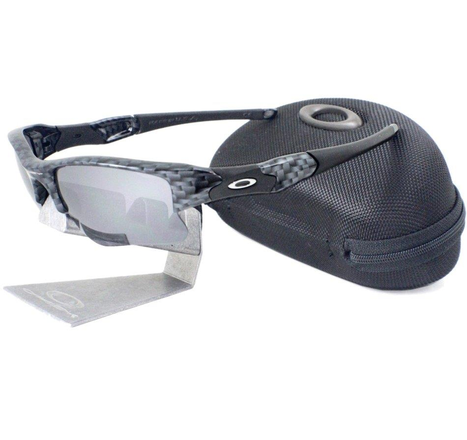 Oakley Custom Flak Jacket Xlj True Carbon Fiber Black