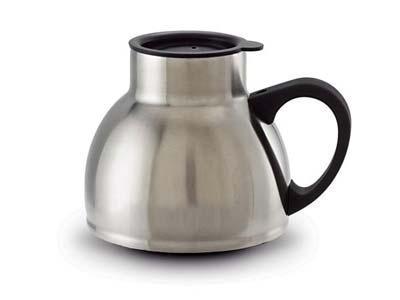 18oz stainless steel chubby coffee mug non slip base for High end coffee mugs