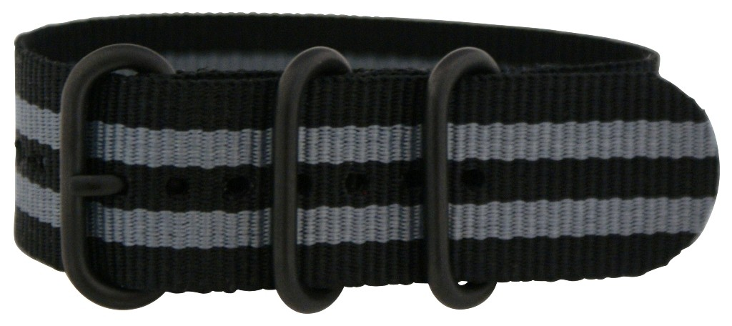 JAMES-BOND-PVD-ZULU-3-RING-MILITARY-WATCH-BAND-Strap-nato-G-10-FITS-ALL-New