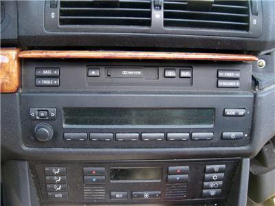 1996 99 BMW E39 5 Series Business RDS Radio Cassette Head Player 528i 540i
