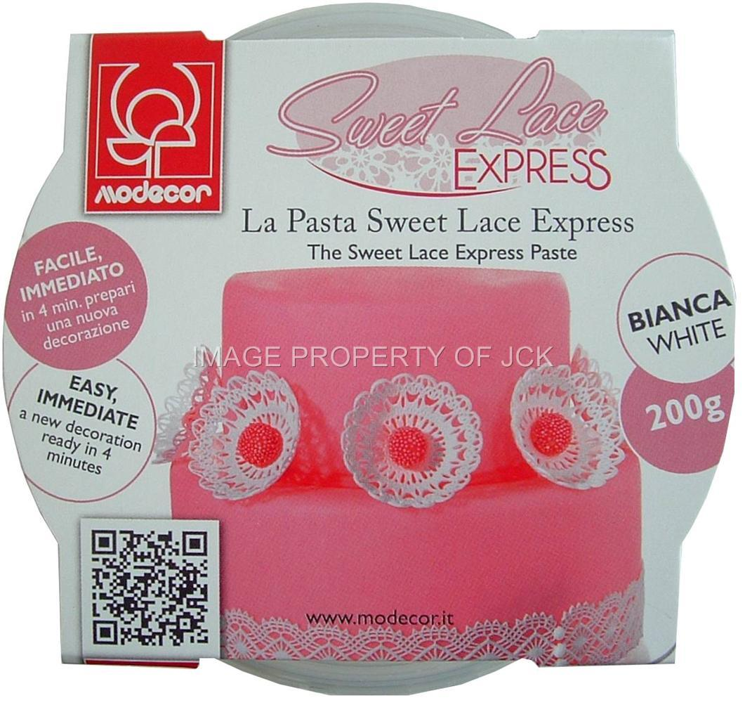 Sweet Lace Cake Decorating : 200g SWEET LACE EXPRESS FOR MAKING LACE WITH MOULDS FOR ...