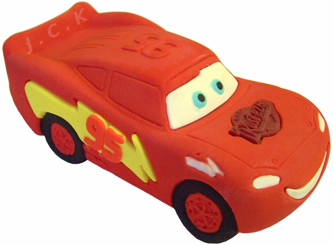 DISNEY CARS LIGHTNING MCQUEEN 3D SUGAR MODEL BIRTHDAY CAKE ...