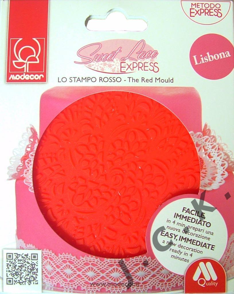 Sweet Lace Cake Decorating : SWEET LACE EXPRESS LISBONA SILICONE MOULD WEDDING BIRTHDAY ...